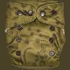 Natural Newborn Grasses Green Cloth Diaper