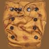 Natural Newborn Dandelions Yellow Cloth Diaper
